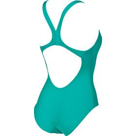 arena Solid Swim Pro Costume da bagno intero Donna, persian green-aphrodite